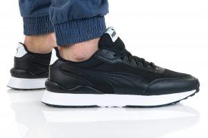 נעלי סניקרס פומה לגברים PUMA R78 FUTR DECON - שחור
