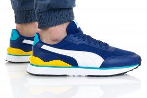 נעלי סניקרס פומה לגברים PUMA R78 FUTR DECON - כחול