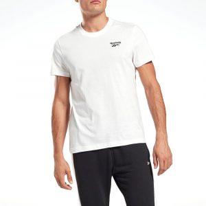 חולצת T ריבוק לגברים Reebok Identity - לבן