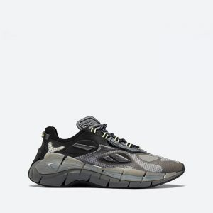 נעלי סניקרס ריבוק לגברים Reebok Zig Kinetica II Concept 1 - שחור/אפור