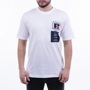 חולצת T ראסל אתלטיק לגברים Russell Athletic Athletic Scott S / S - לבן