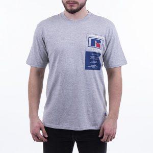 חולצת T ראסל אתלטיק לגברים Russell Athletic Athletic Scott S / S - אפור