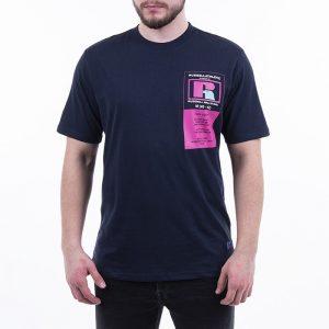 חולצת T ראסל אתלטיק לגברים Russell Athletic Athletic Scott S / S - כחול