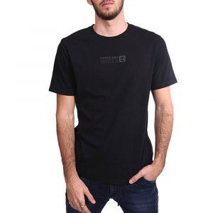 חולצת T טימברלנד לגברים Timberland Brand Carrier Mini Linear Tee - שחור