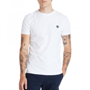 חולצת T טימברלנד לגברים Timberland Dun-River Crew Tee - לבן