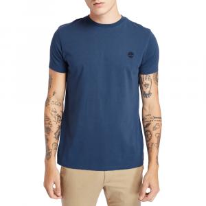 חולצת T טימברלנד לגברים Timberland Dun-River Crew Tee - כחול