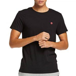 חולצת T טימברלנד לגברים Timberland Dunstan River Crew - שחור