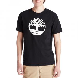 חולצת T טימברלנד לגברים Timberland River Tree Logo Tee - שחור
