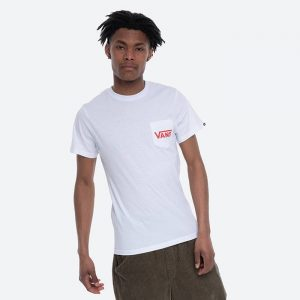 חולצת T ואנס לגברים Vans OTW Classic - לבן