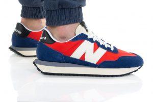 נעלי סניקרס ניו באלאנס לגברים New Balance MS237 - כחול/אדום