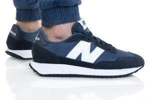 נעלי סניקרס ניו באלאנס לגברים New Balance MS237 - שחור/כחול