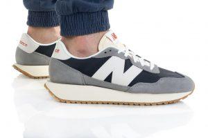 נעלי סניקרס ניו באלאנס לגברים New Balance MS237 - אפור