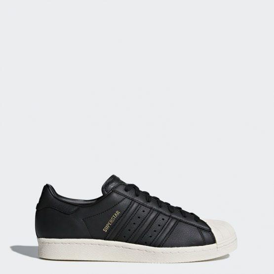 נעלי סניקרס אדידס לגברים Adidas Superstar 80s - שחור