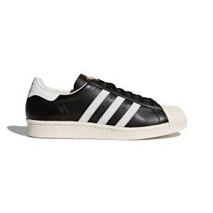 נעלי סניקרס אדידס לגברים Adidas Superstar 80s - שחור/לבן