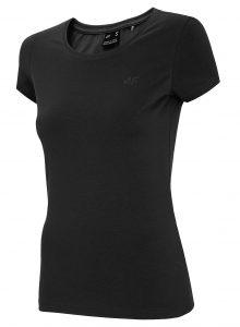 חולצת T פור אף לנשים 4F CZER - שחור