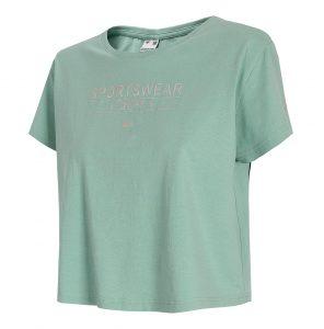 חולצת T פור אף לנשים 4F H4L21 TSD013 - ירוק