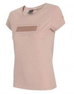 חולצת T פור אף לנשים 4F Overcome - ורוד
