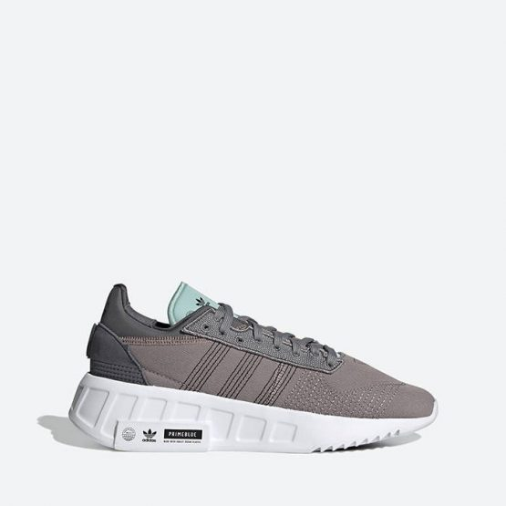 נעלי סניקרס אדידס לנשים Adidas Originals Geodiver Primeblue - אפור