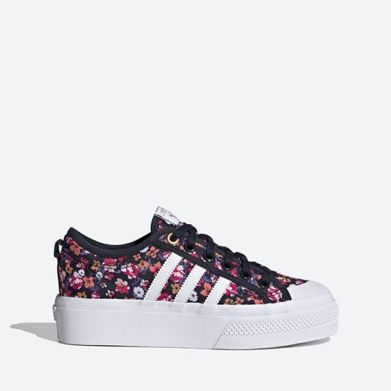 נעלי סניקרס אדידס לנשים Adidas Originals Nizza Platform - צבעוני