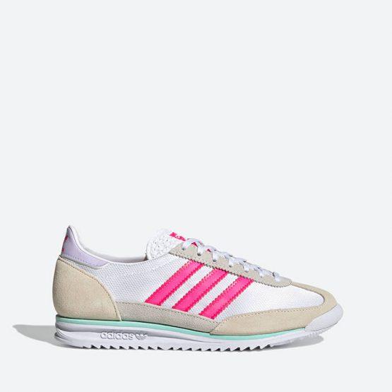 נעלי סניקרס אדידס לנשים Adidas Originals SL 72 - לבן