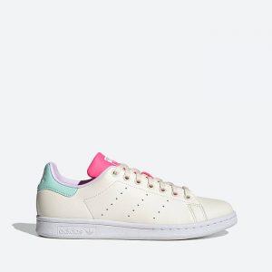 נעלי סניקרס אדידס לנשים Adidas Originals Stan Smith - צבעוני בהיר