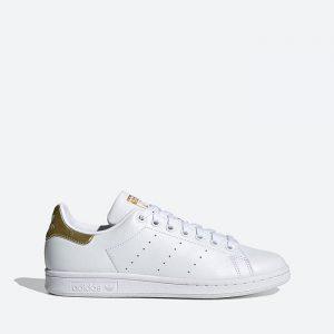 נעלי סניקרס אדידס לנשים Adidas Originals Stan Smith - לבן