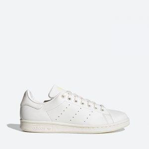 נעלי סניקרס אדידס לנשים Adidas Originals Stan Smith - לבן/צהוב