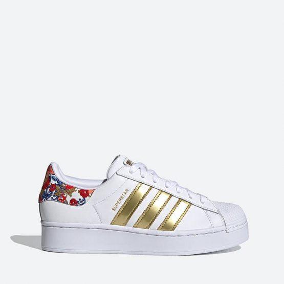 נעלי סניקרס אדידס לנשים Adidas Originals Superstar Bold 2 - צבעוני/לבן