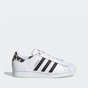 נעלי סניקרס אדידס לנשים Adidas Originals Superstar - לבן/שחור