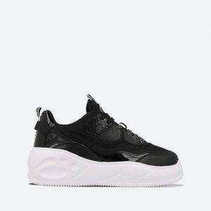 נעלי סניקרס Buffalo לנשים Buffalo Flat CPX - שחור