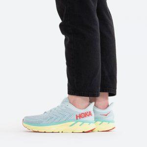 נעלי ריצה הוקה לנשים Hoka One One Clifton 7 - תכלת