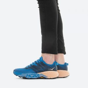 נעלי ריצה הוקה לנשים Hoka One One Speedgoat 4 - כחול