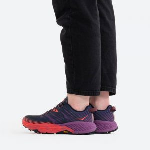 נעלי ריצה הוקה לנשים Hoka One One peedgoat 4 - סגול