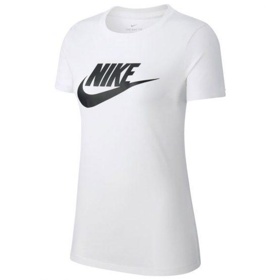 חולצת T נייק לנשים Nike ESSNTL ICON FUTURA - לבן