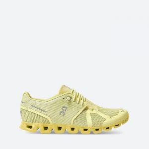 נעלי ריצה און לנשים On Running Cloud - צהוב