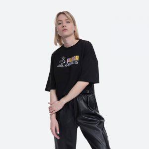 חולצת T פומה לנשים PUMA x Peanuts - שחור