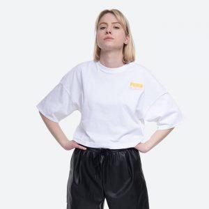 חולצת T פומה לנשים PUMA x Peanuts - לבן