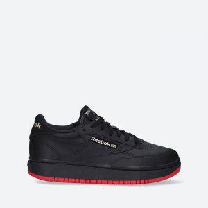 נעלי סניקרס ריבוק לנשים Reebok x Cardi B Coated Club C Double - שחור