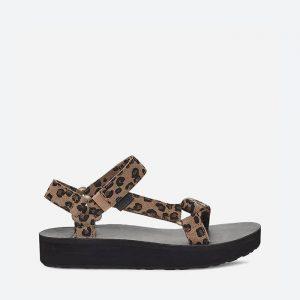 סנדלים טיבה לנשים Teva Midform Universal Leopard - מנומר