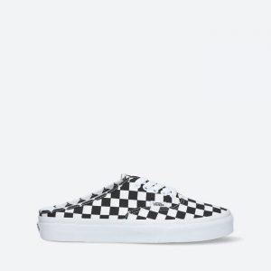נעלי סניקרס ואנס לנשים Vans Authentic Mule Checkerboard - שחור