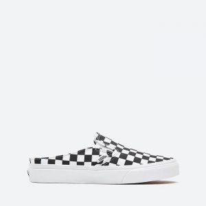 נעלי סניקרס ואנס לנשים Vans Slip-On Checkerboard - שחור/לבן