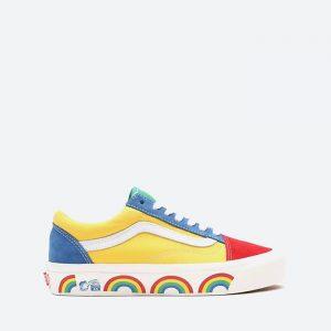 נעלי סניקרס ואנס לנשים Vans UA Old Skool 36 Dx - צהוב