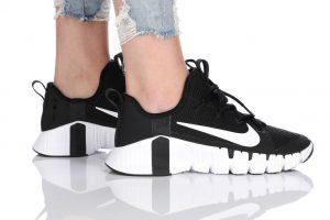 נעלי אימון נייק לנשים Nike Free Metcon 3 - שחור/לבן