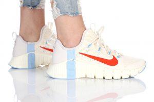 נעלי אימון נייק לנשים Nike Free Metcon 3 - לבן  כחול  אדום