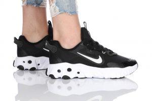נעלי ריצה נייק לנשים Nike React Art3mis - שחור/לבן