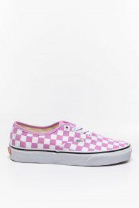 נעלי סניקרס ואנס לנשים Vans Authentic CHECKERBOARDO - לבן/סגול