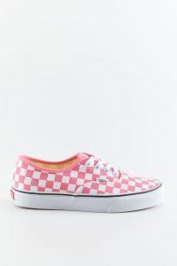 נעלי סניקרס ואנס לנשים Vans Authentic CHECKERBOARDP - ורוד