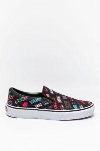 נעלי סניקרס ואנס לנשים Vans Classic Slip-On - צבעוני כהה
