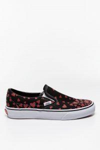 נעלי סניקרס ואנס לנשים Vans Classic Slip-On VALENTINE - צבעוני כהה
