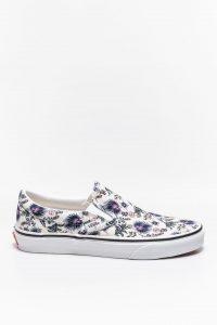 נעלי סניקרס ואנס לנשים Vans Classic Slip-On - צבעוני/לבן